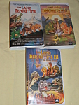 The Land Before Time Video Lot Of 6
