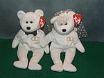 Ty Wedding Bears 2001