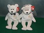 Ty Wedding Bears 2001
