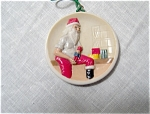 Sebastian Miniature Santa Ornament
