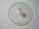 Diana Crystal Depression Glass Candy Cover