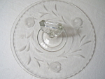 Rose Wheel Cut Sandwich Tray #87 By Bartlett-collins