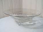 Largo Crystal Bowl By Paden City