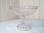 Antique Seamless Footed Compote