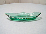 Antique Green Pin Dish 1900