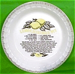 Lemon Meringue Pie Baker 11in 1983 Royal China Jeanette