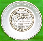 Cheese Cake Pie Baker 11inch Royal China Plate Jeanette