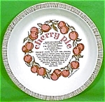 Cherry Pie Baker 10 Inch Royal China Plate Jeanette