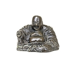 Old Chinese Export Bronze Happy Buddha