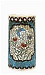 Old Japanese Totai Cloisonne Brush Holder Sg