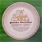 Quiche Lorraine Pie Baker 10 In Royal China Jeanette