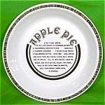 10 Inch Apple Pie Baker Gourmet Radial Plate Jeanette