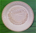 Pizza Di Casa Baker 11 Inch Royal China Plate Jeanette