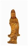 Old Chinese Export Soapstone Quan Yin Buddha