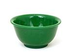 Old Chinese Export Jadeite Green Peking Glass Bowl