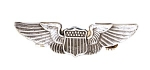 Vintage Sterling Silver Air Force Aviation Pilot Wings
