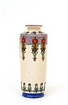 Old Japanese Art Deco American Satsuma Vase
