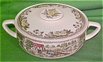 Casserole Fair Oaks Royal China Lid Crack