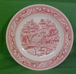 9 Inch Luncheon Plate Memory Lane By Royal China