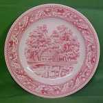 10 Inch Dinner Plate Memory Lane By Royal China
