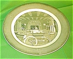 12 Chop Plate Colonial Homestead Royal China