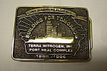 Special Award Solid Brass Belt Buckle