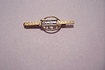 Swank Initial Gold Tone Tie Clip