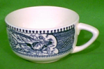 Teacup - Currier Ives Royal China