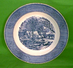 9 Inch Luncheon Plate Currier Ives Royal China