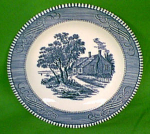 7 3/8 Salad Plate Currier Ives Royal China