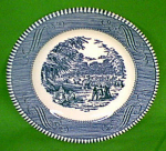 6 1/2 Bread Plate Currier Ives Royal China