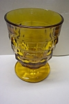 Whitehall Pattern 8 Ounce Amber Tumbler