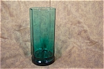 Elegant Greenish Blue 10-sided Iced Tea Glasses