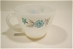 Blue Fleurette Tea Cups