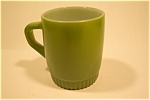 Green Fire King Mug With Patterned Base