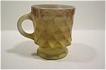 Brownish-yellow Kimberly Fire-king Mug