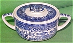 Sugar + Lid W Designs Blue Willow Royal China