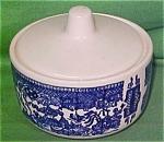 Sugar Bowl + Lid Blue Willow Royal China Handless