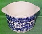 Early Sugar Bowl No Lid Blue Willow By Royal China