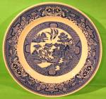 9 Blue Willow Luncheon Plate Royal China Early