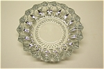 Elegant Crystal Pressed Glass Ash Tray