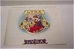 Lyra Cigar Box Label