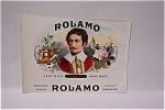 Rolamo Cigar Box Label