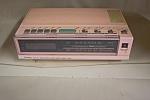 Pink J. C. Penny Clock Radio