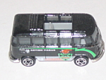 Vw Van Transporter, Matchbox, 1998, Black