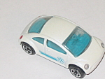 Matchbox, Vw New Beetle, White, 1995