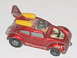 Matchbox, Vw Matchbox No 11 Flying Bug, 1972, Red