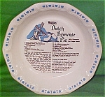 Dutch Brownie Pie Baker By Watkins Made By Royal China