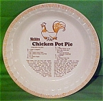 Chicken Pot Pie Baker Sold By Watkins Made By Royal China