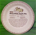 Deep Dish Apple Pie Baker By Watkins By Royal China